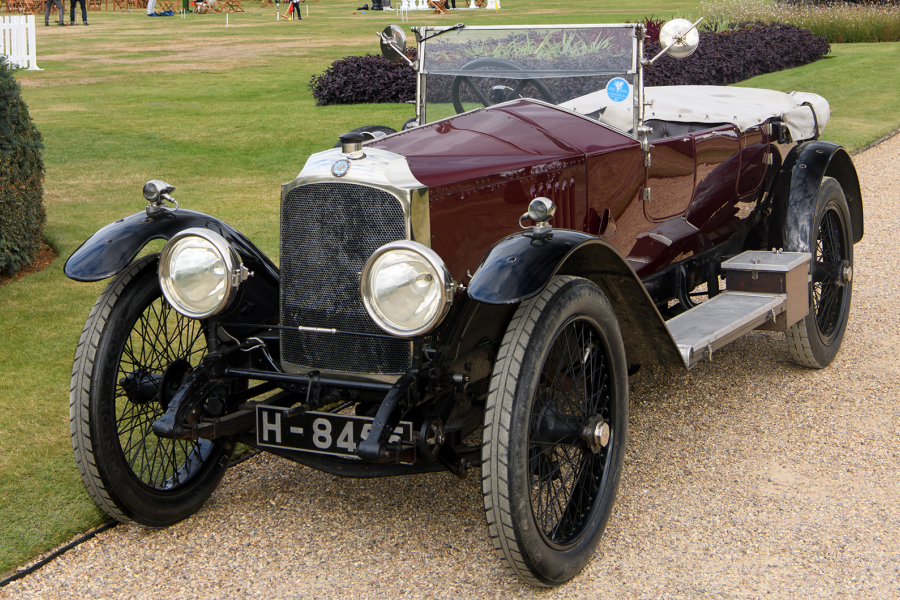 Classic & Sports Car – Vauxhall 30-98 wins RAC Club Trophy at Concours of Elegance