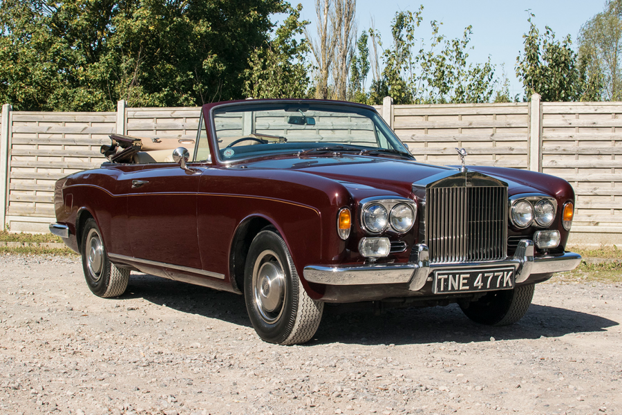 Classic & Sports Car – This Rolls-Royce Corniche was owned by a rock'n'roll legend