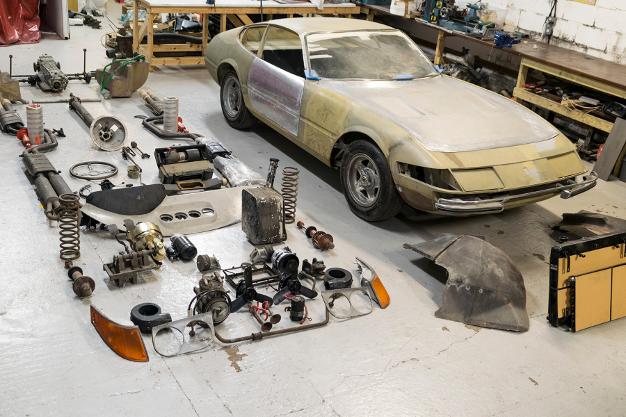 This 1971 Ferrari 365 GTB/4 'Daytona' Berlinetta is for sale