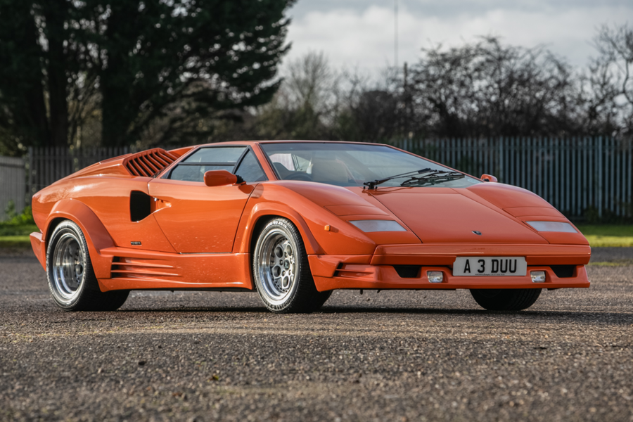 Classic & Sports Car – 1990 Lamborghini Countach 25th Anniversary