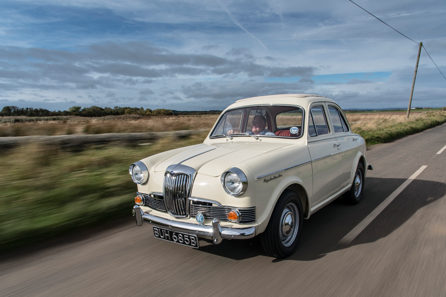 Classic & Sports Car – One man's mission to restore a Riley One Point Five