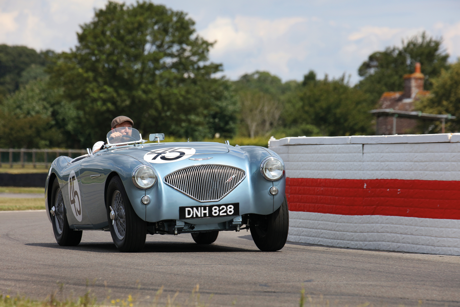 Classic & Sports Car – This unassuming Austin-Healey 100 is a pioneer privateer
