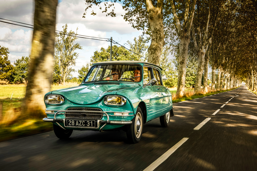 Classic & Sports Car – Citroën Ami 6: baroque and roll