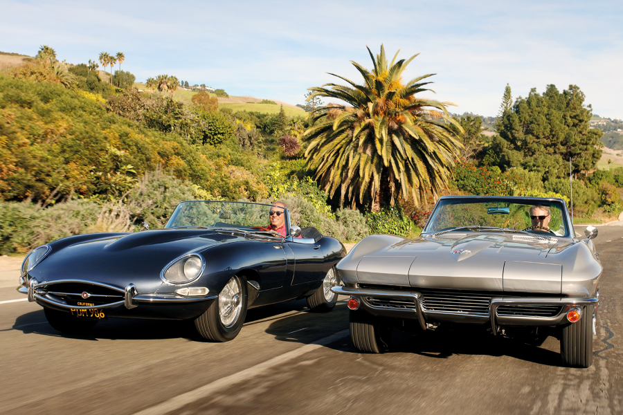 Classic & Sports Car – Transatlantic tussle: Chevrolet Corvette vs Jaguar E-type