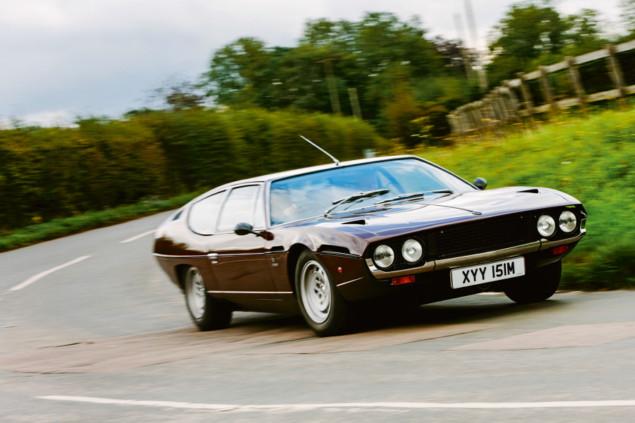 Classic & Sports Car – Lamborghini Espada: ideal for a school run?