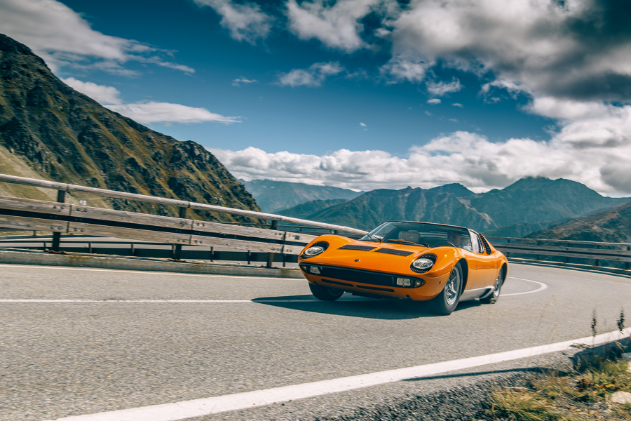 Classic & Sports Car – The true story of The Italian Job Lamborghini Miura