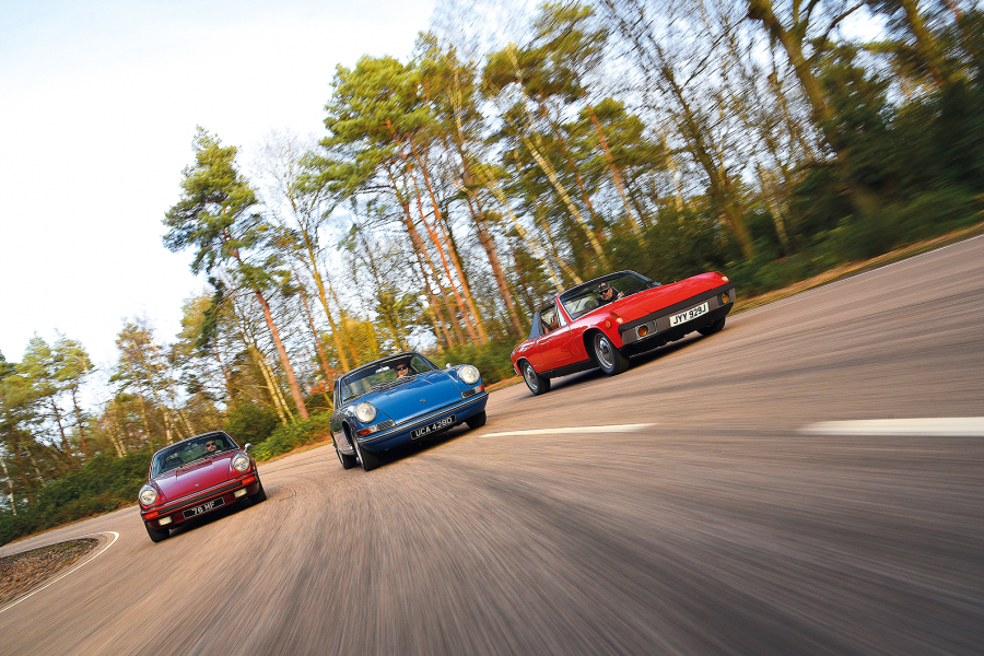Classic & Sports Car – Porsche four all: celebrating the 912E, 912 and 914
