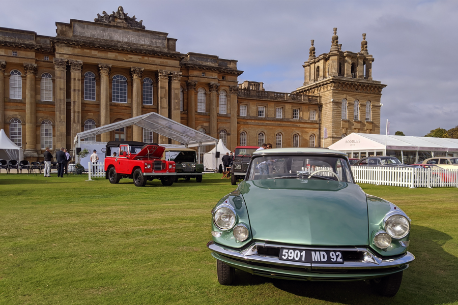 Citroën Le Paris at Blenheim Palace