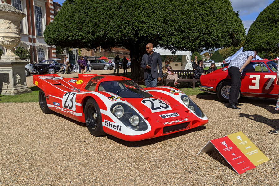 Classic & Sports Car – Porsche and Messerschmitt on top at Concours of Elegance
