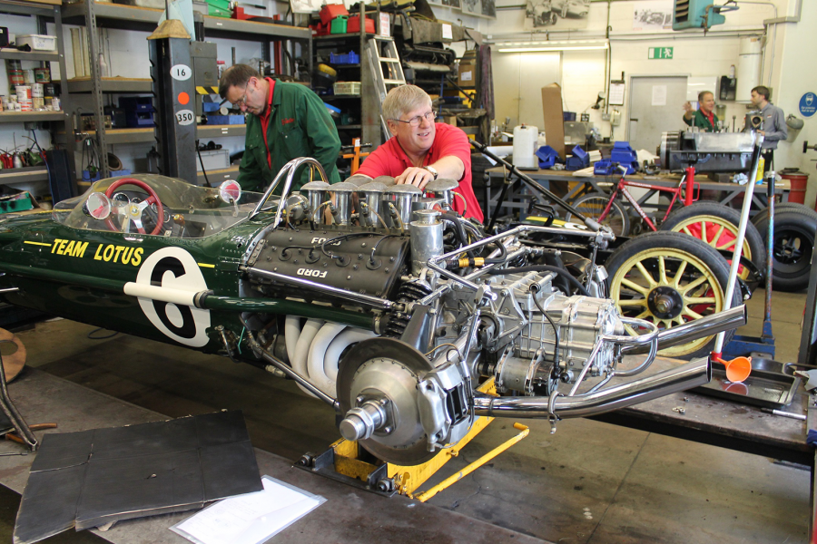 Classic & Sports Car – Beaulieu's workshop opens to all