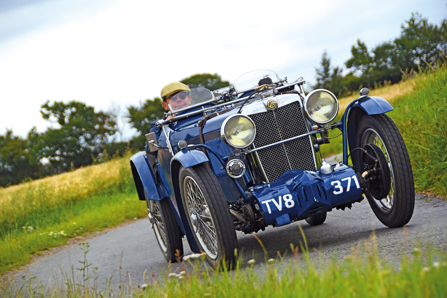 Classic & Sports Car – MG J4: Abingdon's giant killer