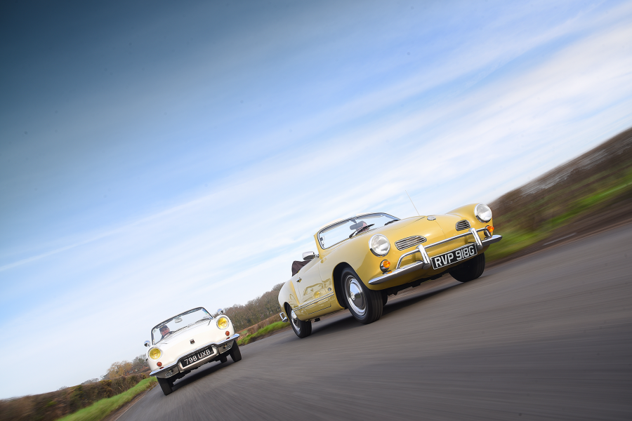 Classic & Sports Car – Chic to chic: Volkswagen Karmann Ghia vs Renault Floride