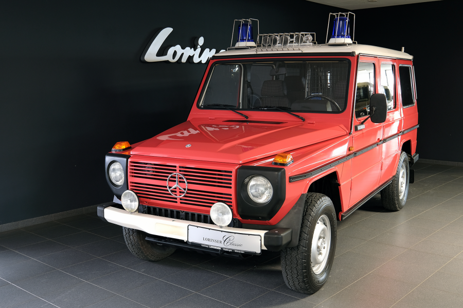 Classic & Sports Car – The classic Mercedes G-Wagen fire truck you never knew you needed