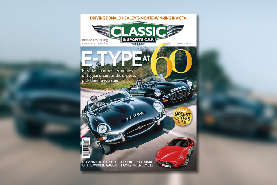 Classic & Sports Car – Jaguar E-type at 60: inside the January 2021 issue of C&SC