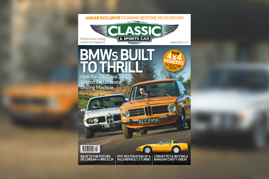 Classic & Sports Car – BMW 2002 and 3.0 CSL: inside the February 2021 issue of C&SC
