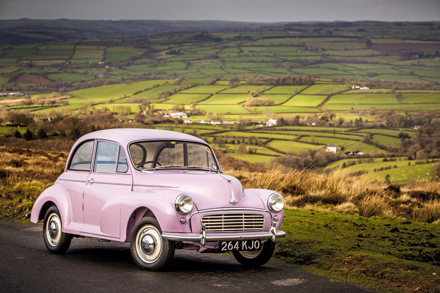 Classic & Sports Car – Why the Morris Minor Million is lilac