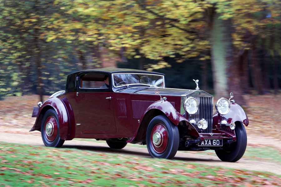 Classic & Sports Car – Meet the unique Rolls-Royce Phantom II Continental that thinks it's a hot rod