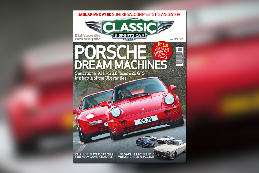 Classic & Sports Car – Porsche dream machines: inside the May 2021 issue of C&SC