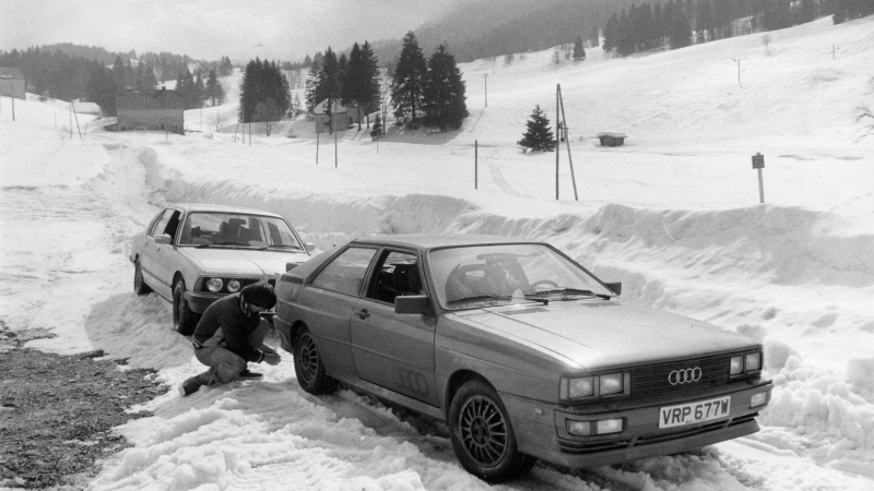 Quattro power: how Audi's turbo 4x4 changed motoring forever