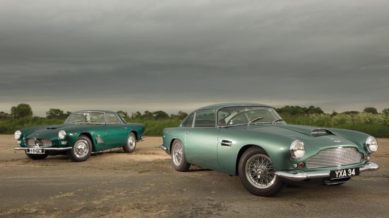 Grandest Tourers Aston Martin Vs Maserati Classic Sports Car