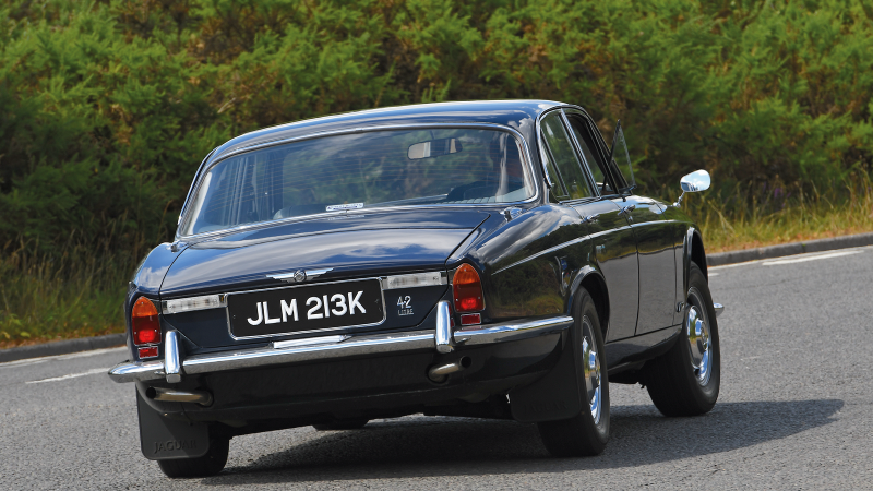 Driving the Jaguar XJ, 50 years after its launch