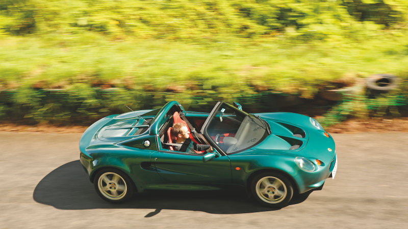 How the Elise saved Lotus and became a legend